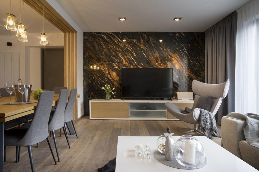 Súťaž Interiér roku: Leštená brazílska žula v hlavnej úlohe nadčasového interiéru
