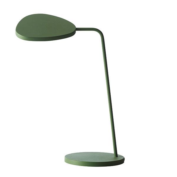 Leaf od značky Muuto, lakovaný hliník, výška 41,5 cm, priemer 18,5 cm, LED technológia, stmievateľná, viac farieb, 199 €, www.designville.sk