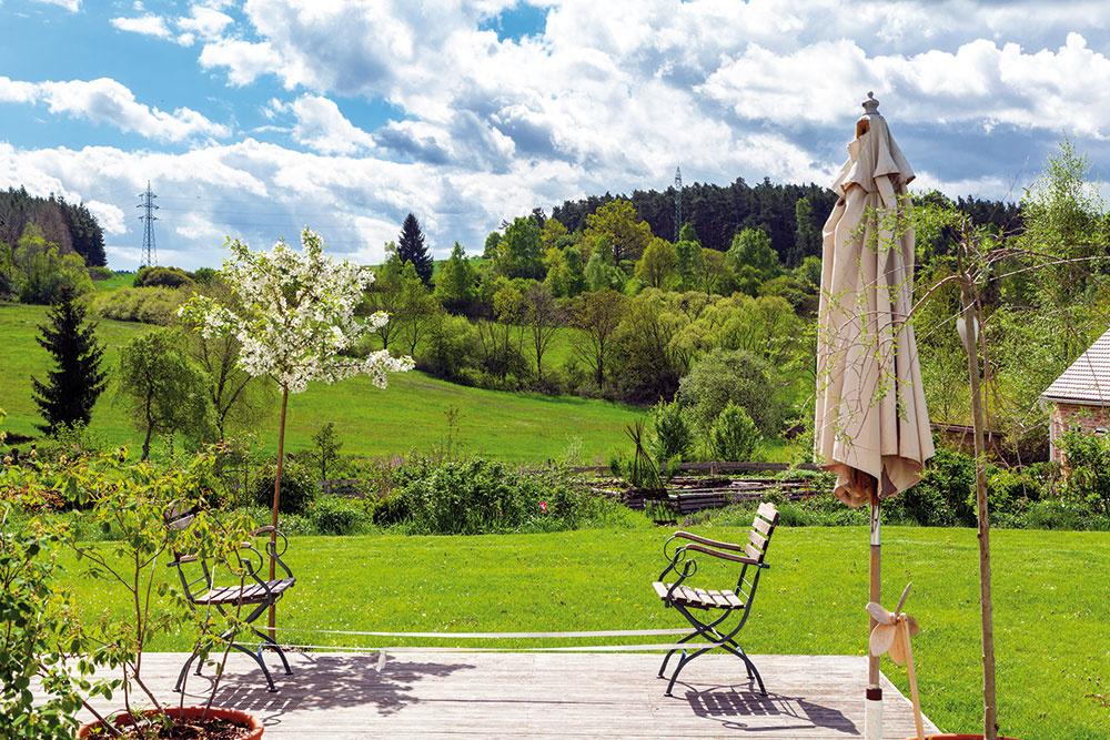 Život v domčeku v duchu príjemnej vidieckej romantiky
