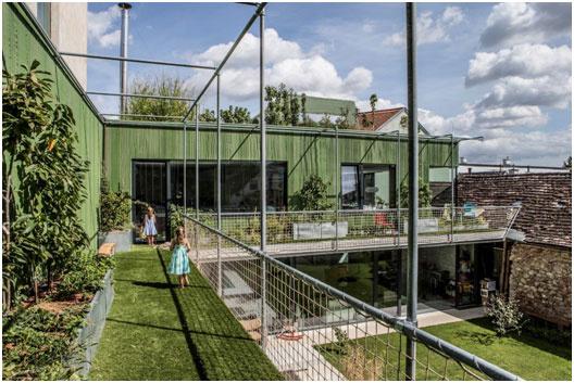 """Špeciálna kategória """"Štruktúra podporuje dizajn"""" House Marie, Baden, Austria"""
