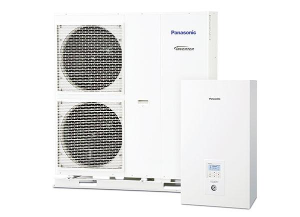 PANASONIC Aquarea T-CAP-SQ  Supertiché tepelné čerpadlo vzduch/voda patrí do nového radu Aquarea Generácia H. Jeho hlučnosť je znížená len na 50 dB(A), čo možno prirovnať k zvukom mierneho dažďa, je preto ideálne do rodinných domov vhustej zástavbe. T-CAP-SQ je kdispozícii v 9, 12 a16 kW vyhotovení, všetky modely majú vysokú účinnosť COP až 5,03 (A7/W35). Jednotky pracujú bez poklesu výkonu aj pri vonkajších teplotách –20 °C. panasonicenergy.sk