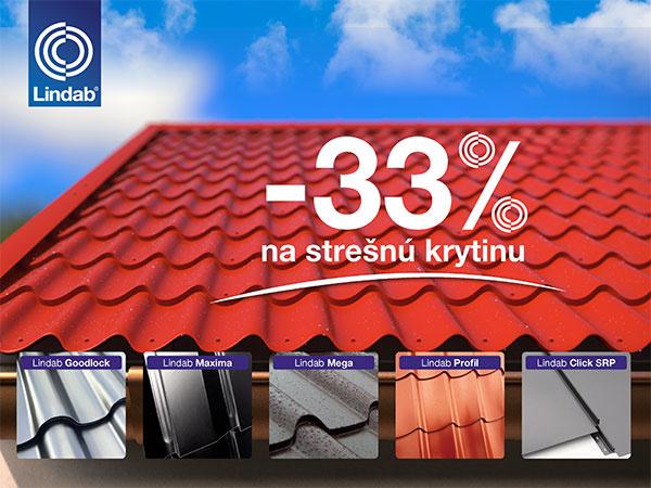 Kvalitná švédska strecha za tretinku