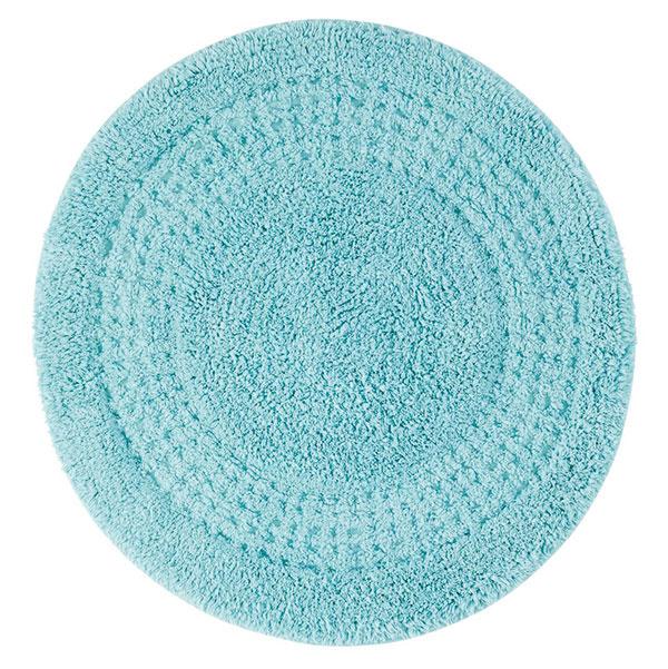 Koberček do kúpeľne, 100 % bavlna, priemer 60 cm, viac farieb, 7,95 €, www.cellbes.sk