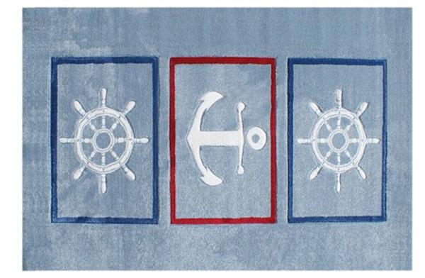 Detský koberec Happy Rugs s námorníckym motívom, 105,42 €, www.bambino.sk