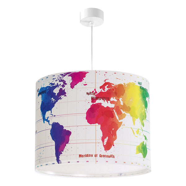Detská závesná lampa MAP 42722, plast, 60,74 €, www.trendylampy.sk