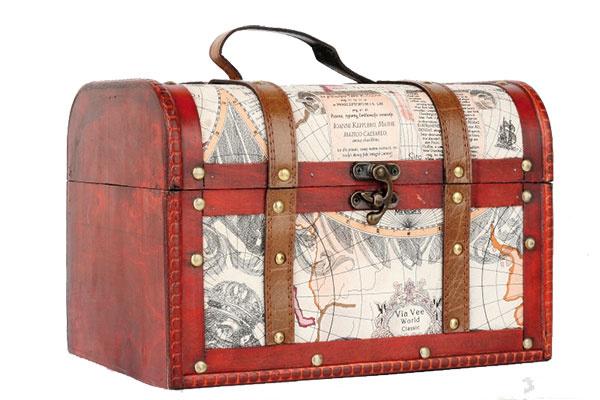 Retro kufrík Cestovateľ, 33,40 €, www.novaline.sk