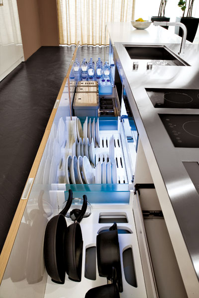 Kuchyňa v detaile