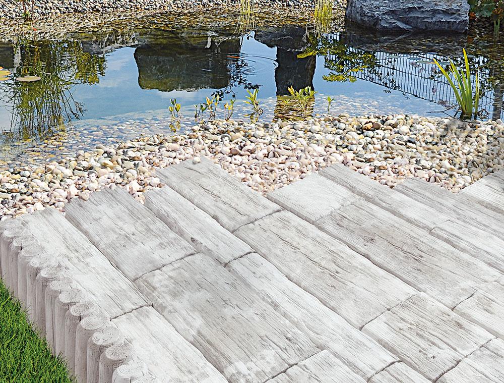 Vplyvom poveternostných podmienok sa môže na povrchu platní Nordic Maritime vytvoriť zaujímavá patina, ktorá povrch ešte viac zušľachťuje. www.semmelrock.sk