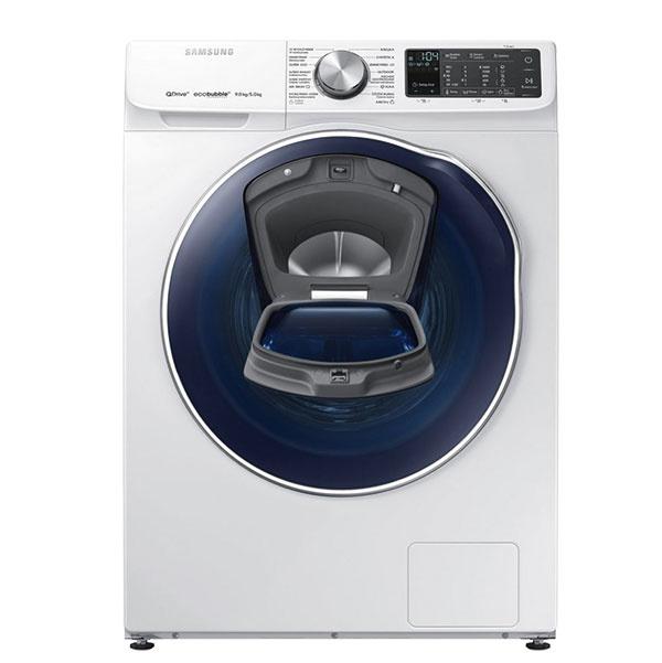 Novinkou na trhu je spredu plnená práčka so sušičkou quickdrive samsung WD90N642OOM/ZE, ktorá stačí väčšej rodine – kapacita práčky 9 kg, sušičky 5 kg. Disponuje množstvom vlastností, ktoré vám uľahčia každodenné pranie. Technológia QuickDrive vyperie za polovicu času pri všetkých cykloch, stechnológiou EcoBubble afunkciou BubbleSoak šetrne aúsporne vyperiete aj silno znečistenú bielizeň.  Cena 1  189 €