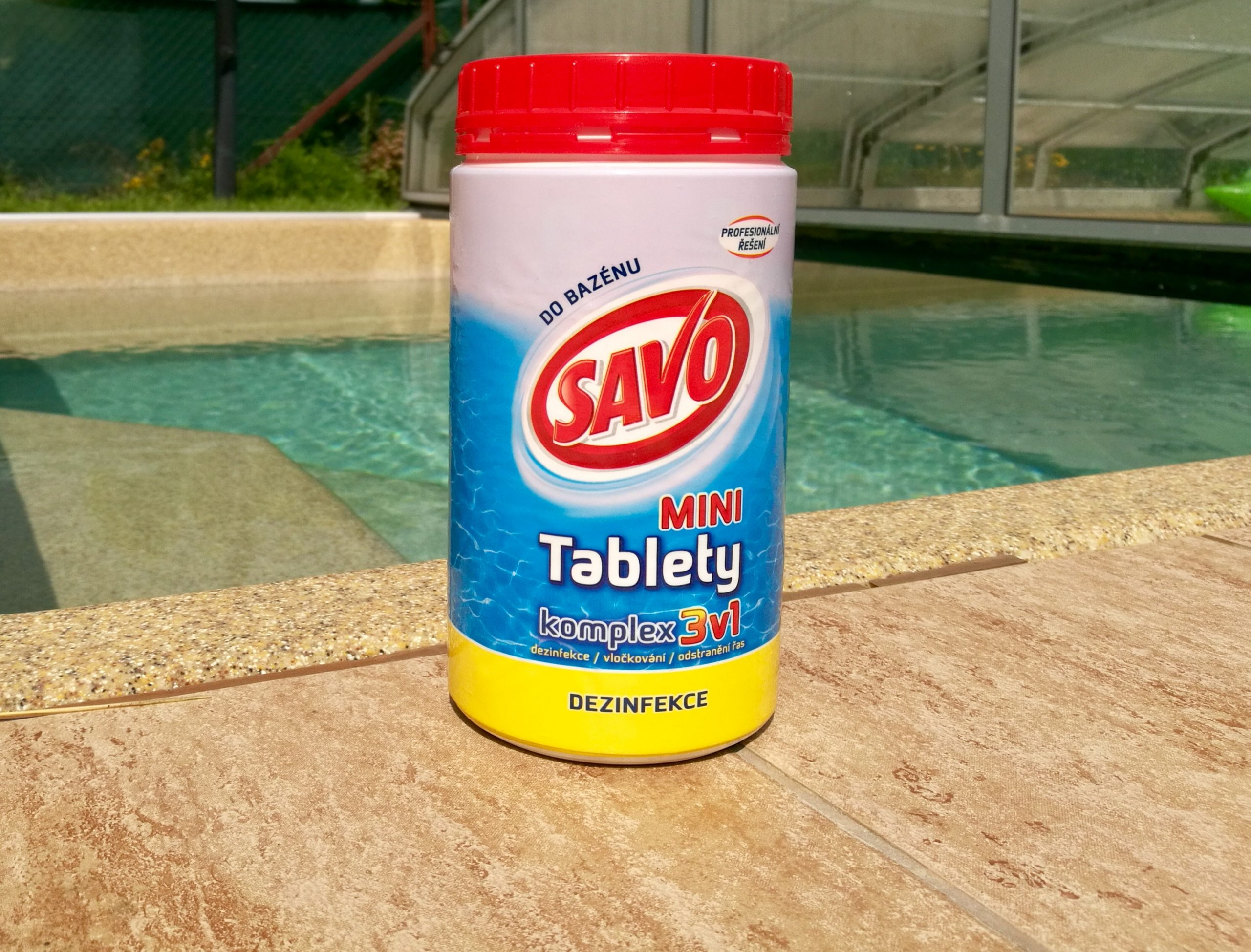 V starostlivosti o váš bazén vám pomôže Savo do bazéna.
