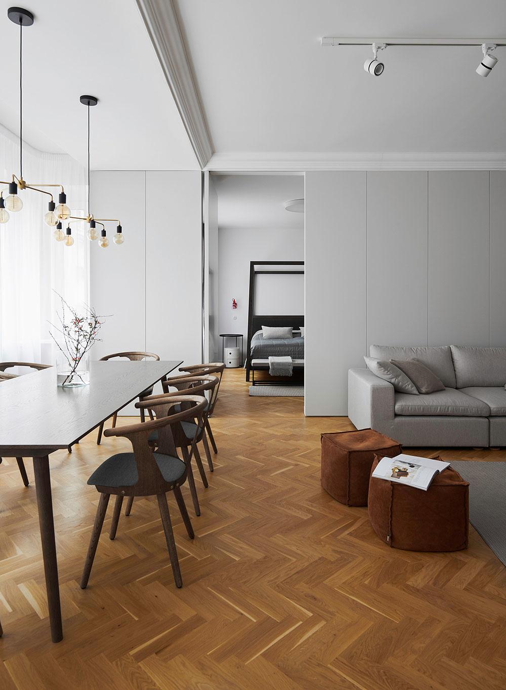 Náročná rekonštrukcia povojnového bytu v bratislavskom Starom meste