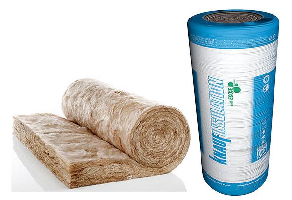 Rolovaná izolácia z minerálnej vlny s ECOSE Technology je určená na zateplenie šikmých striech avnútorných priečok. Ocenia ju hlavne majitelia nízkoenergetických až pasívnych stavieb. Vyrába sa zprírodných alebo recyklovaných surovín aspája sa bez formaldehydu, fenolov, živíc abez pridávania umelých farieb, bielidla alebo farbív. Pružné minerálne vlákna sa prispôsobujú nerovnostiam vstrešnej konštrukcii, výborne tepelne izolujú, sú nehorľavé apohlcujú hluk. www.knaufinsulation.sk