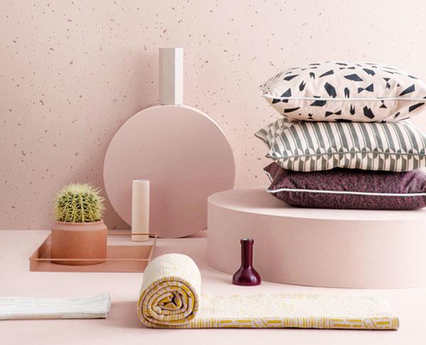 Škola interiérových farieb: Ružová