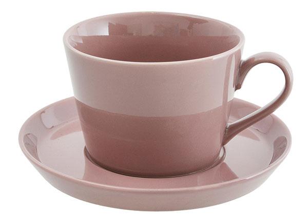 Súprava hrnčekov Floral pink, keramika, priemer 12 cm, 9,90 €/2 ks, www.westwing.sk