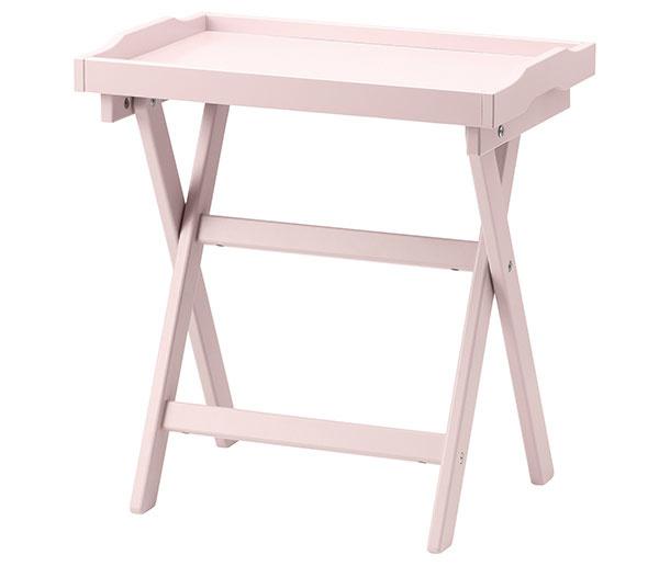 Odkladací stolík Maryd, masívny buk, drevovláknitá doska, 58 × 38 × 58 cm, 59,99 €, IKEA
