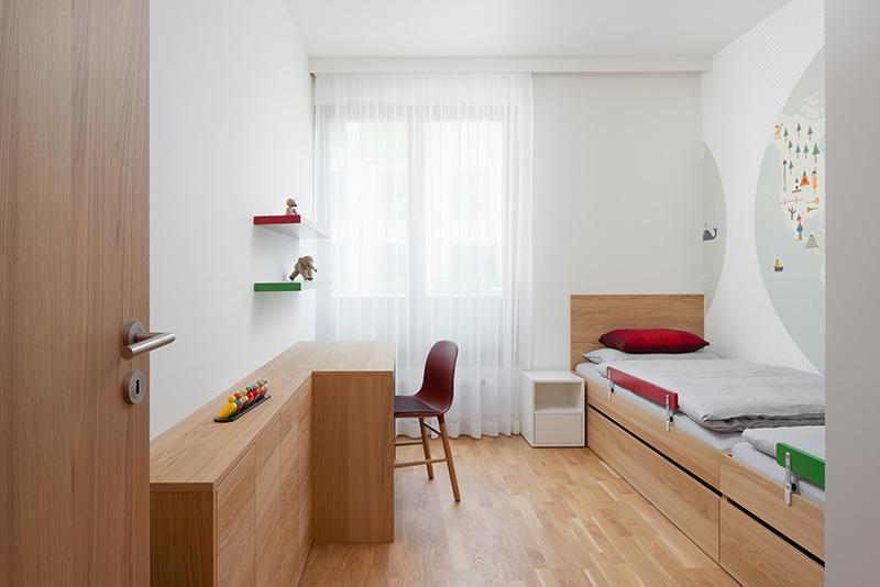 Návrh interiéru bytu v Prahe 10