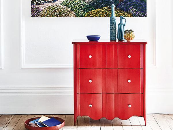 Škola interiérových farieb: Červená