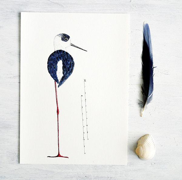 Plagát Šišila, reprodukcia autorskej kresby tušom, grafický papier, 42 × 29,7 cm, 7,50 €, www.sashe.sk/TELLA