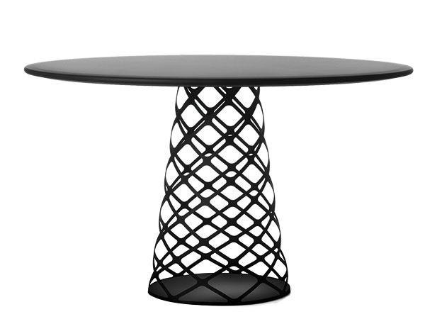 Konferenčný stolík Aoyama od značky Gubi, oceľ, priemer 130 cm, výška 73 cm, 2 569 €, www.ambientedirect.com
