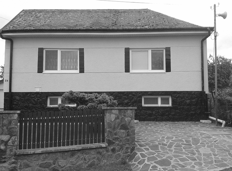 Dom pred rekonštrukciou.