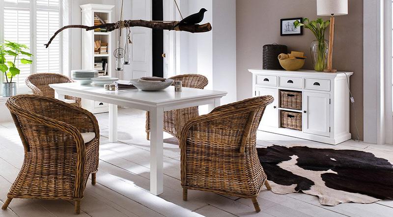 Nábytok značky NovaSolo je vyrobený z mahagónového dreva, ktoré sa vyznačuje najvyššou trvanlivosťou, odolnosťou proti oderu a dlhodobou krásou. Foto: WESTWING