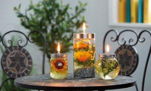 Ako si zútulniť záhradné posedenie: Vyrobte si olejovú lampu!