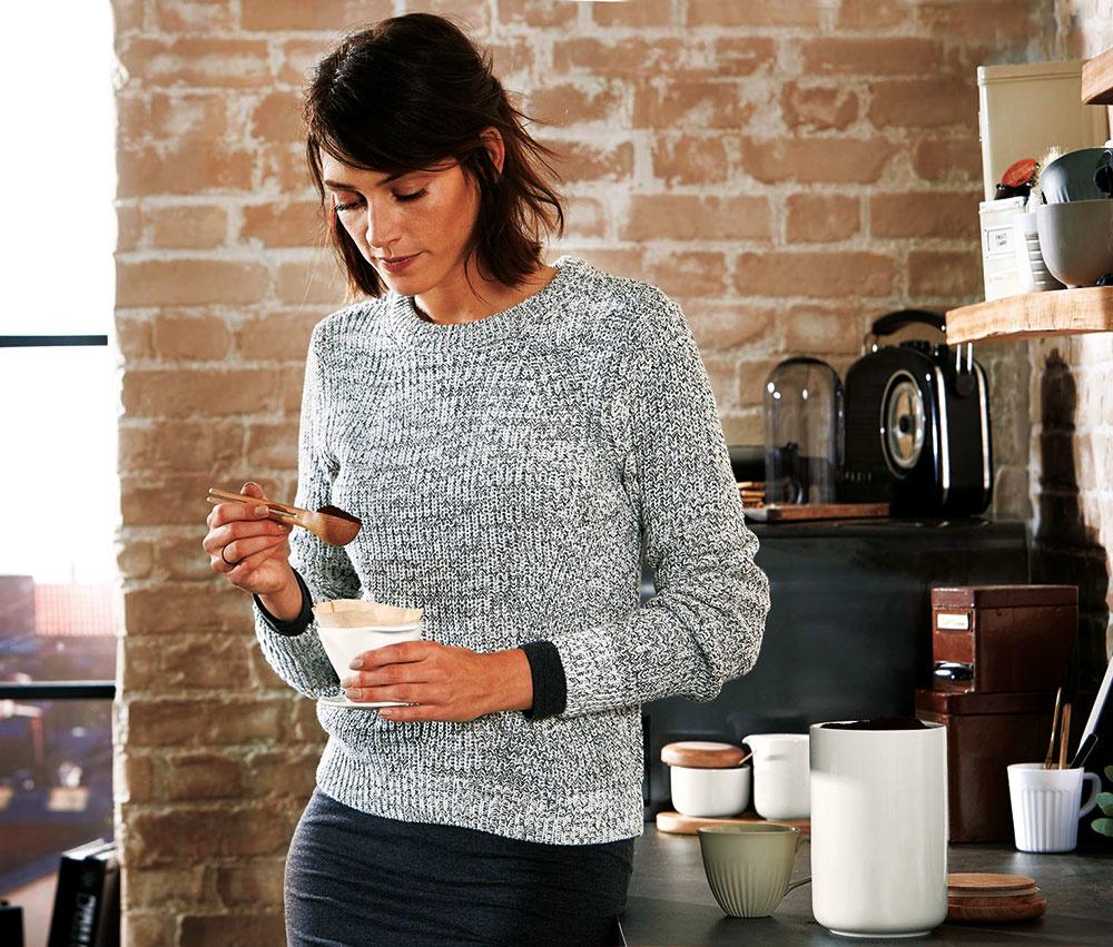 Odmerka na kávu, dubové drevo, objem na 7 g mletej kávy, dĺžka 17 cm, 6,99 €, www.tchibo.sk