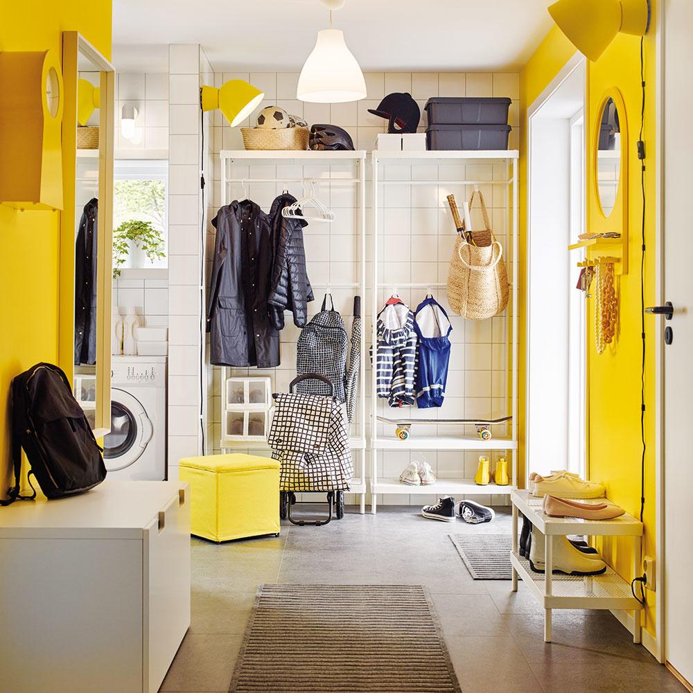 Žltá je jednou zo základných farieb spektra, je to farba slnka asvetla. Vzbudzuje vnás pozitívne pocity, prebúdza chuť do života, nabáda na aktivity acelkovú životnú vitalitu. Obklopte sa ňou aj vy avyskúšajte, aký hrejivý bude váš každodenný návrat domov, ak vstúpite do chodby odetej do žlta.