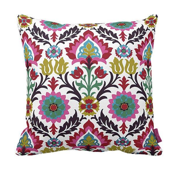 Vankúš Floral, rozmery 43 × 43 cm, polyesterová textília, www.bonami.sk