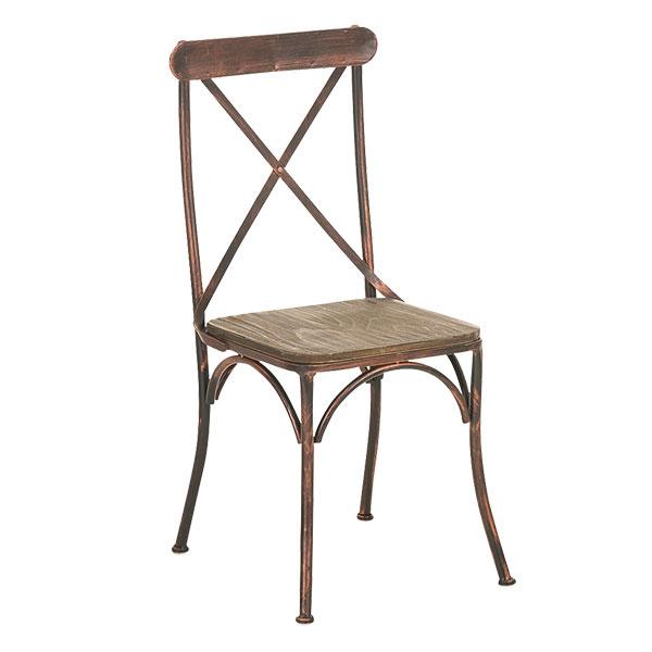 Bistro stolička Bromly, drevo, kov, 119 €, www.design-shop.sk