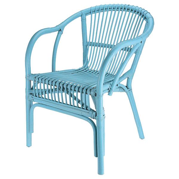 Súprava dvoch stoličiek Eljas Turquoise, prútie, ratan, 99 €, www.westwing.sk