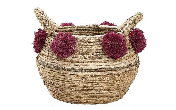 Kôš s brmbolcami, 45,99 €, www.zarahome.com