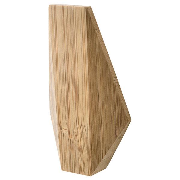 SKUGGIS, bambus, 6,4 × 11 × 2 cm, bez viditeľných skrutiek, 3,99 €, IKEA
