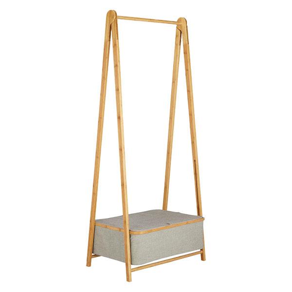 S ODKLADACÍM boxom, bambus, polyester, 64,5 × 160 × 50 cm, 94,50 €, www.johnlewis.com