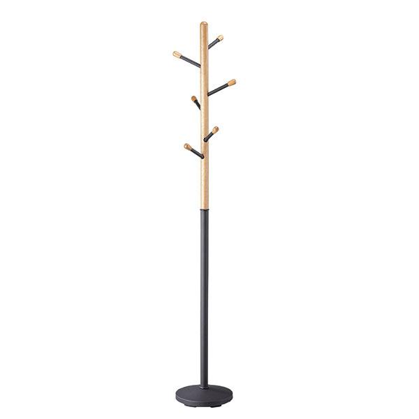Coat, drevo, kov, 33,5 × 180 × 33,5 cm, 49,95 €, www.moebelix.sk