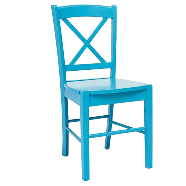 Modrá a červená stolička od značky Signal, 41,59 €, 36 × 85 × 40 cm, www.bonami.sk