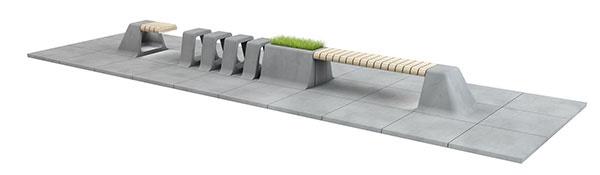 PRESBETON na veľtrhu FOR ARCH predstaví novinku – mestský mobiliár a dlažbu G-ROW