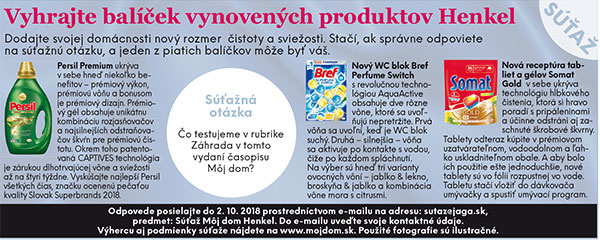 Výsledky súťaže o vynovené produkty Henkel