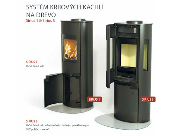 Dokonalý dizajn vďaka skrytej technológii – to je Schiedel SIRIUS