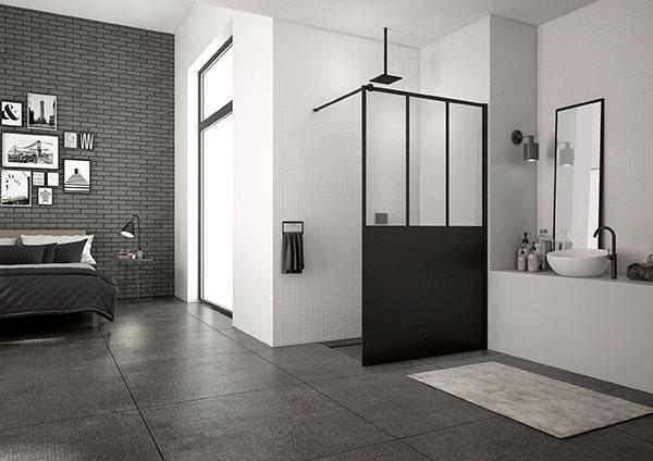 Klasický trend, ale aj extravagancia moderného štýlu: Walk-in EASY zo série Black Line