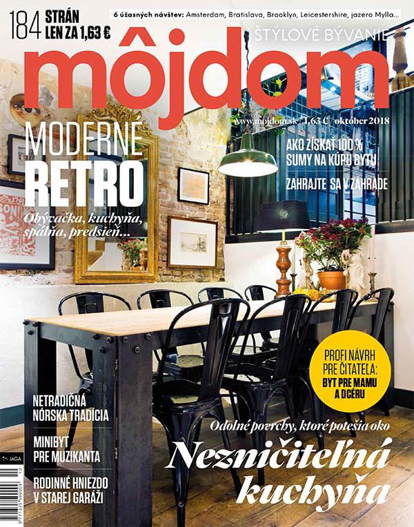 Októbrové číslo časopisu Môj dom už v predaji