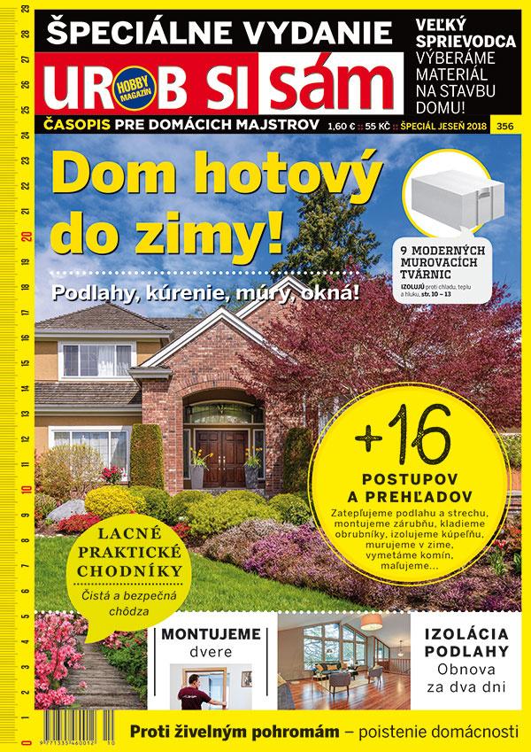 Časopis Urob si sám Špeciál - jeseň je v predaji!