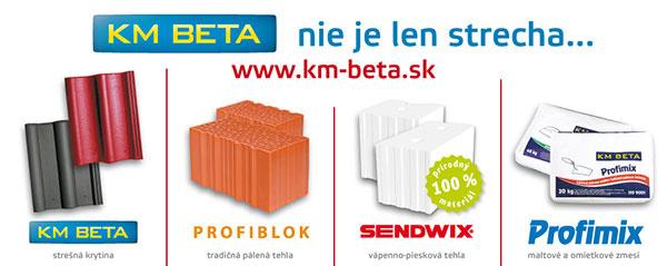 Maltové a omietkové zmesi KMB Profimix od KM BETA