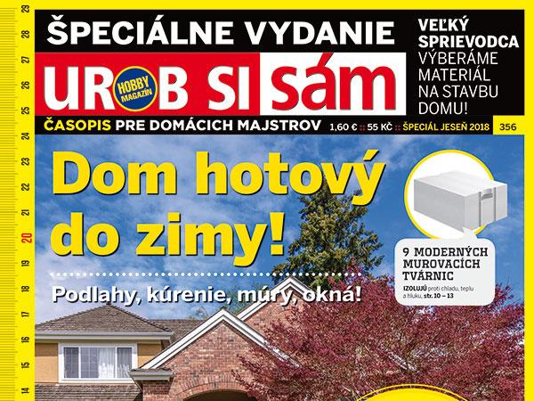 Časopis Urob si sám Špeciál – jeseň je v predaji!