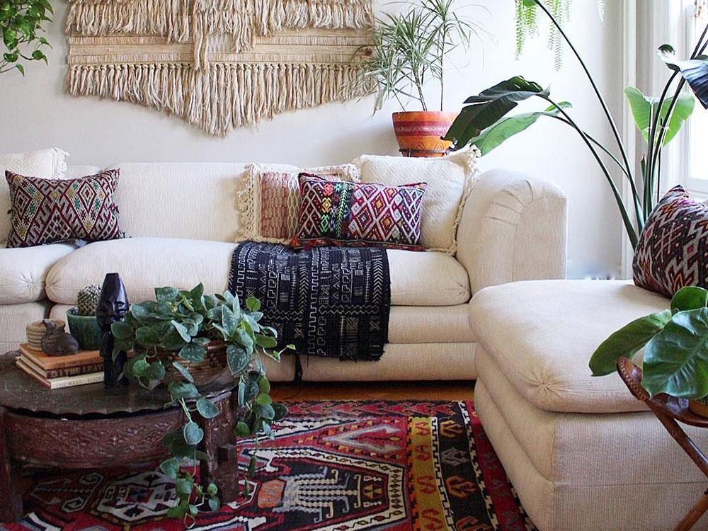 """Ako vyzerá obývačka v štýle """"Boho""""?"""