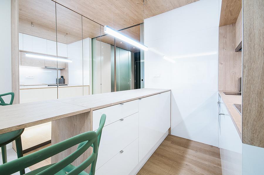Rekonštrukcia bytu v Prahe