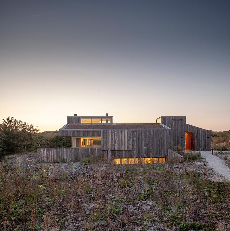 Prázdninový dom medzi dunami a plážou v Holandsku