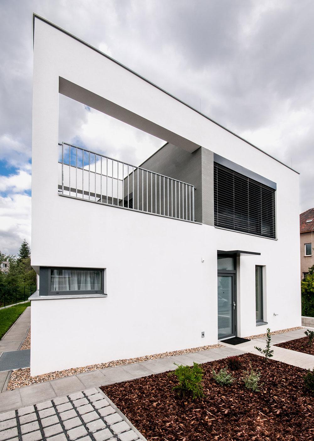 Rodinný dom klame na prvý pohľad: Nie je kockou a nemá dve podlažia