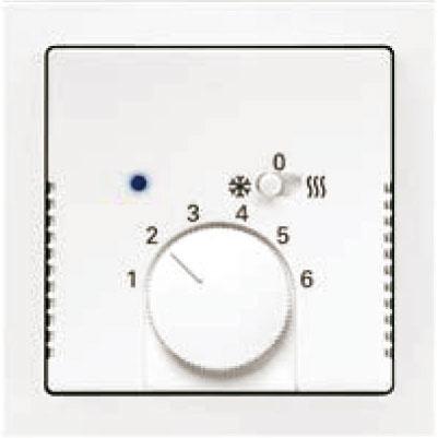 Termostat pre kúrenie/chladenie s posuvným prepínačom