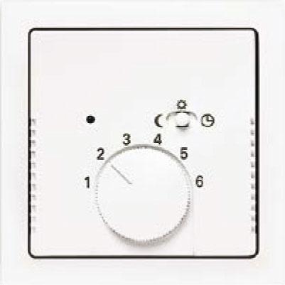 Termostat priestorový/podlahový s otočným nastavením teploty
